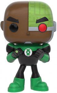 Funko POP de Cyborg como Green Lantern - Los mejores FUNKO POP de Teen Titans Go - Los mejores FUNKO POP de series de dibujos animados