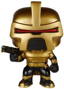 Funko POP de Cylon comandante dorado - Los mejores FUNKO POP de Battlestar Galactica - Funko POP de series de televisión
