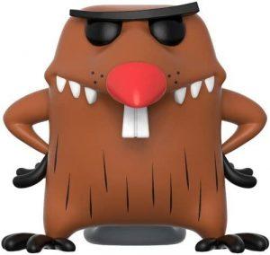 Funko POP de Daggett Doofus Beaver - The Angry Beavers - Los mejores FUNKO POP de los Castores Cascarrabias - Los mejores FUNKO POP de series de dibujos animados