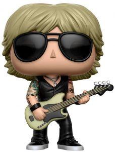 Funko POP de Duff McKagan - Los mejores FUNKO POP de Guns and Roses - Los mejores FUNKO POP de grupos musicales - FUNKO POP de música