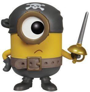 Funko POP de Eye Matie Pirata - Los mejores FUNKO POP de Gru, mi villano favorito 3 - Los minions - Despicable Me 3 - Funko POP de películas de cine