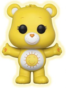Funko POP de Felizosito oscuridad chase - Funshine Bear - Los mejores FUNKO POP de los osos Amorosos - Care Bears - Los mejores FUNKO POP de series de dibujos animados