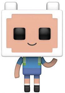 Funko POP de Finn Minecraft - Los mejores FUNKO POP de Hora de Aventuras - Adventure Time - Los mejores FUNKO POP de series de dibujos animados