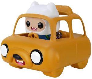 Funko POP de Finn en coche - Los mejores FUNKO POP de Hora de Aventuras - Adventure Time - Los mejores FUNKO POP de series de dibujos animados