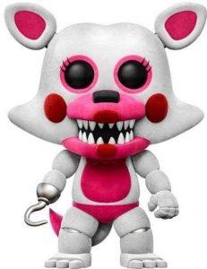 Funko POP de Funtime Foxy flocked con pelo - Los mejores FUNKO POP del Five Nights at Freddy's - Los mejores FUNKO POP de personajes de videojuegos