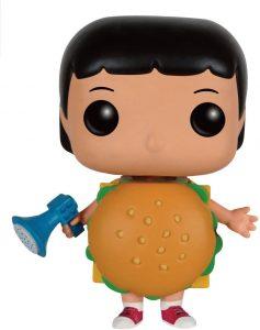 Funko POP de Gene con traje de hamburguesa - Los mejores FUNKO POP de Bob's Burgers - Los mejores FUNKO POP de series de dibujos animados