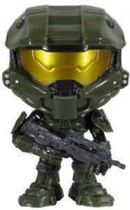 Funko POP de Halo Master Chief en Halo 4 - Los mejores FUNKO POP del Halo - Los mejores FUNKO POP de personajes de videojuegos y de series de TV de Netflix