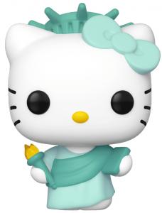 Funko POP de Hello Kitty Estatua de la Libertad - Los mejores FUNKO POP de Hello Kitty - Los mejores FUNKO POP de series de dibujos animados, películas animadas