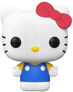 Funko POP de Hello Kitty clásico flocked con pelo - Los mejores FUNKO POP de Hello Kitty - Los mejores FUNKO POP de series de dibujos animados, películas animadas