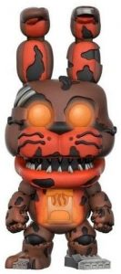 Funko POP de Jack-O-Bonnie oscuridad - Los mejores FUNKO POP del Five Nights at Freddy's - Los mejores FUNKO POP de personajes de videojuegos