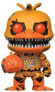 Funko POP de Jack-o Chica - Los mejores FUNKO POP del Five Nights at Freddy's - Los mejores FUNKO POP de personajes de videojuegos