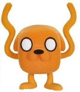 Funko POP de Jake brazos locos con pelo - Los mejores FUNKO POP de Hora de Aventuras - Adventure Time - Los mejores FUNKO POP de series de dibujos animados