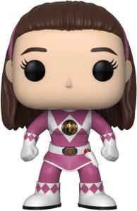 Funko POP de Kimberly - Power Ranger rosa sin casco - Los mejores FUNKO POP de los Power Ranger - Funko POP de series de televisión