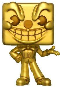 Funko POP de King Dice dorado - Los mejores FUNKO POP del Cuphead - Los mejores FUNKO POP de personajes de videojuegos