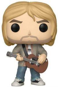 Funko POP de Kurt Cobain clásico - Los mejores FUNKO POP de Kurt Cobain de Nirvana - Los mejores FUNKO POP de grupos musicales - FUNKO POP de música