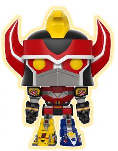 Funko POP de Megazord oscuridad - Los mejores FUNKO POP de los Power Ranger - Funko POP de series de televisión