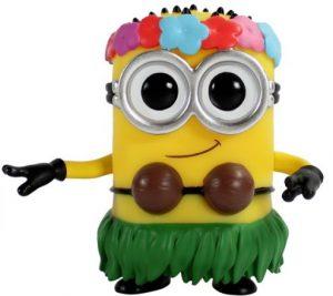 Funko POP de Minion Hula - Los mejores FUNKO POP de Gru, mi villano favorito 3 - Los minions - Despicable Me 3 - Funko POP de películas de cine