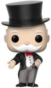 Funko POP de Mr. Monopoly - Los mejores FUNKO POP del Monopoly - Los mejores FUNKO POP de marcas comerciales