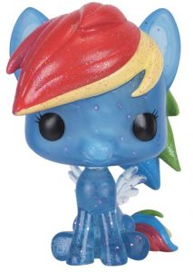 Funko POP de My Little Pony Arcoíris con purpurina glitter - Los mejores FUNKO POP de My Little Pony - Mi Pequeño Pony - Los mejores FUNKO POP de series de dibujos animados
