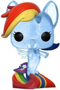 Funko POP de My Little Pony Rainbow Dash Sea Pony con purpurina glitter - Los mejores FUNKO POP de My Little Pony - Mi Pequeño Pony - Los mejores FUNKO POP de series de dibujos animados