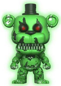 Funko POP de Nightmare Freddy oscuridad - Los mejores FUNKO POP del Five Nights at Freddy's - Los mejores FUNKO POP de personajes de videojuegos