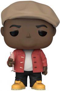 Funko POP de Notorious B.I.G. con champagne - Big Big Poppa - Los mejores FUNKO POP de Notorious B.I.G. - Los mejores FUNKO POP de raperos - FUNKO POP de música