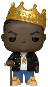 Funko POP de Notorious B.I.G. con corona - Los mejores FUNKO POP de Notorious B.I.G. - Los mejores FUNKO POP de raperos - FUNKO POP de música