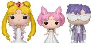 Funko POP de Pack de 3 figuras Serenity Small Lady King Endymion - Los mejores FUNKO POP de Sailor Moon - Los mejores FUNKO POP de anime