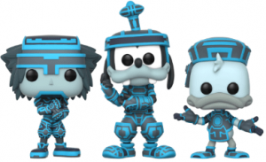 Funko POP de Pack de Sora, Donald y Goofy - Los mejores FUNKO POP del Kingdom Hearts 3 - Los mejores FUNKO POP de personajes de videojuegos