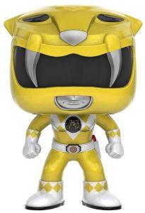 Funko POP de Power Ranger amarillo clásico - Los mejores FUNKO POP de los Power Ranger - Funko POP de series de televisión