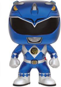 Funko POP de Power Ranger azul metálico - Los mejores FUNKO POP de los Power Ranger - Funko POP de series de televisión