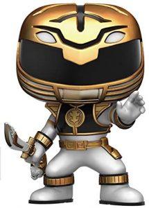 Funko POP de Power Ranger blanco - Los mejores FUNKO POP de los Power Ranger - Funko POP de series de televisión