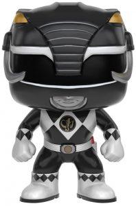 Funko POP de Power Ranger negro - Los mejores FUNKO POP de los Power Ranger - Funko POP de series de televisión