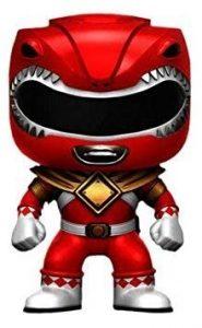Funko POP de Power Ranger rojo clásico - Los mejores FUNKO POP de los Power Ranger - Funko POP de series de televisión