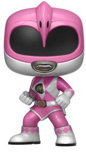Funko POP de Power Ranger rosa metálico - Los mejores FUNKO POP de los Power Ranger - Funko POP de series de televisión