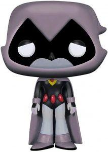 Funko POP de Raven exclusivo gris - Los mejores FUNKO POP de Teen Titans Go - Los mejores FUNKO POP de series de dibujos animados