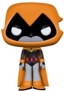 Funko POP de Raven exclusivo naranja - Los mejores FUNKO POP de Teen Titans Go - Los mejores FUNKO POP de series de dibujos animados