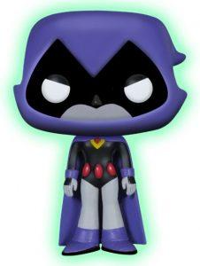 Funko POP de Raven exclusivo oscuridad - Los mejores FUNKO POP de Teen Titans Go - Los mejores FUNKO POP de series de dibujos animados