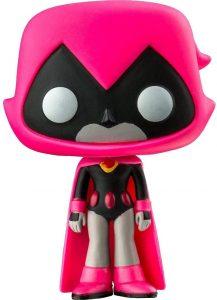 Funko POP de Raven exclusivo rosa - Los mejores FUNKO POP de Teen Titans Go - Los mejores FUNKO POP de series de dibujos animados
