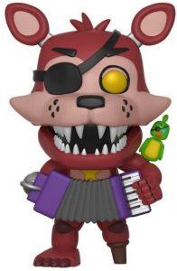 Funko POP de Rockstar Foxy - Los mejores FUNKO POP del Five Nights at Freddy's - Los mejores FUNKO POP de personajes de videojuegos