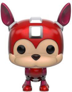 Funko POP de Rush - Los mejores FUNKO POP de Megaman - Los mejores FUNKO POP de personajes de videojuegos