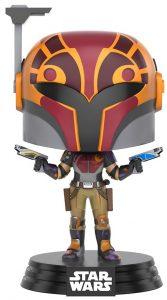 Funko POP de Sabine con casco - Los mejores FUNKO POP de Star Wars Rebels - Los mejores FUNKO POP de personajes de Star Wars y de la serie de Rebels