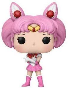 Funko POP de Sailor Chibi Moon con purpurina glitter - Chibiusa - Pequeño Guerrero Luna - Los mejores FUNKO POP de Sailor Moon - Los mejores FUNKO POP de anime