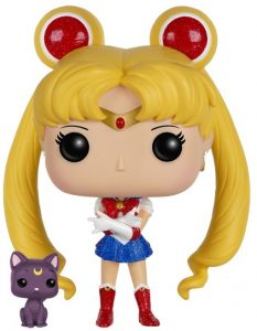 Funko POP de Sailor Moon con purpurina y Luna - Bunny - Los mejores FUNKO POP de Sailor Moon - Los mejores FUNKO POP de anime