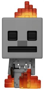 Funko POP de Skeleton en llamas - Los mejores FUNKO POP del Minecraft - Los mejores FUNKO POP de personajes de videojuegos