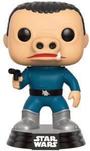 Funko POP de Snaggletooths con traje azul - Los mejores FUNKO POP de Snaggletooths - Los mejores FUNKO POP de personajes de Star Wars