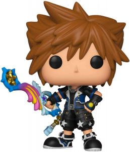 Funko POP de Sora con espada única - Los mejores FUNKO POP del Kingdom Hearts 3 - Los mejores FUNKO POP de personajes de videojuegos