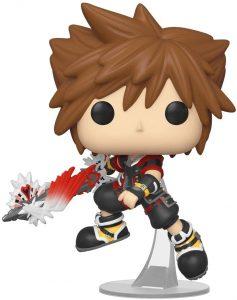 Funko POP de Sora con espada - Los mejores FUNKO POP del Kingdom Hearts - Los mejores FUNKO POP de personajes de videojuegos