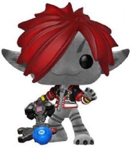 Funko POP de Sora de Monstruos S.A. con pelo - Los mejores FUNKO POP del Kingdom Hearts - Los mejores FUNKO POP de personajes de videojuegos