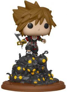 Funko POP de Sora en acción - Los mejores FUNKO POP del Kingdom Hearts 3 - Los mejores FUNKO POP de personajes de videojuegos